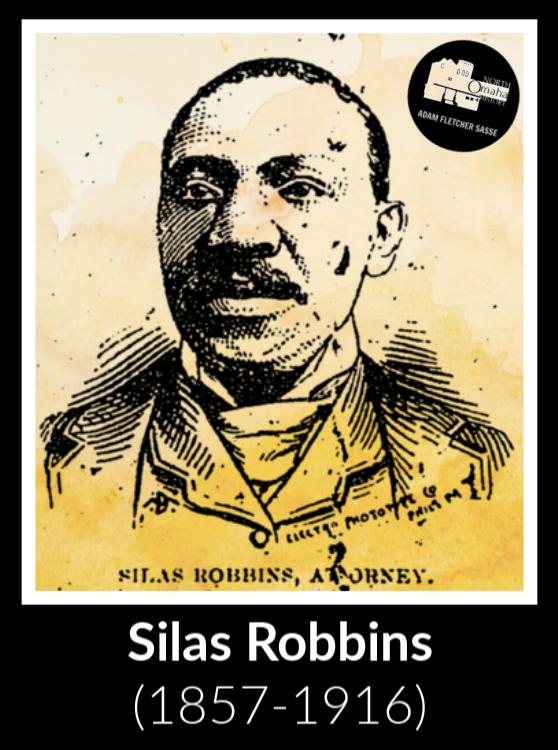 Silas Robbins (1857-1916), North Omaha, Nebraska