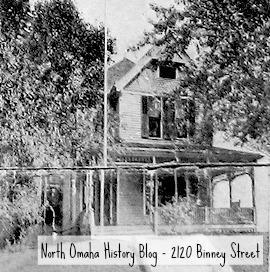 1904 pic of 2120 Binney Street, North Omaha, Nebraska