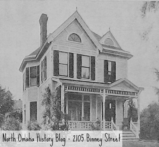 (1907) 2105 Binney St., North Omaha, Nebraska