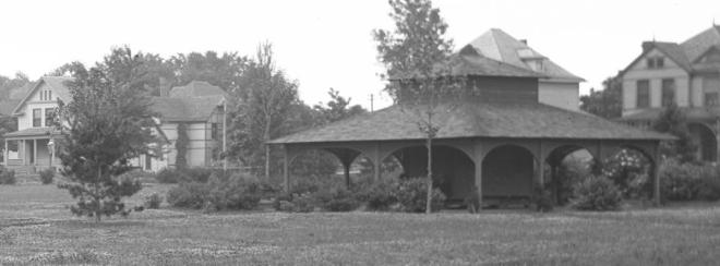 Kountze Park Pavilion, North Omaha, Nebraska