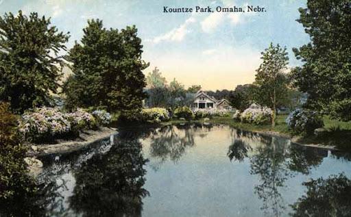 Kountze Park lagoon North Omaha Nebraska