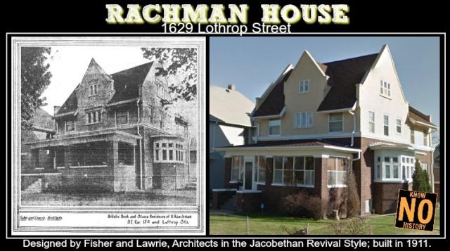 Rachman House, 1629 Lothrop Street, North Omaha, Nebraska