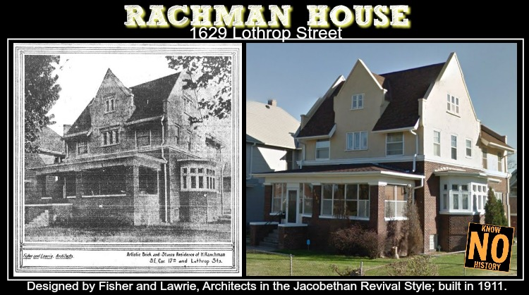 Rachman House, 1629 Lothrop Street, North Omaha, Nebraska