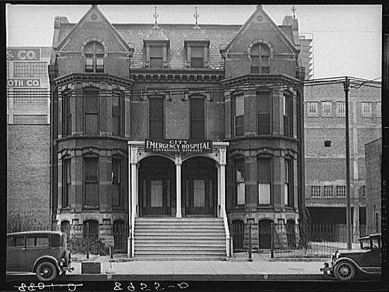 This is Anna Wilson's gift to the City of Omaha, once located at 905 Douglas Street.