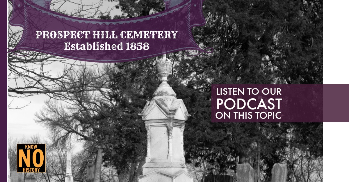 Listen to the North Omaha History Podcast on Prospect Hill Cemetery!