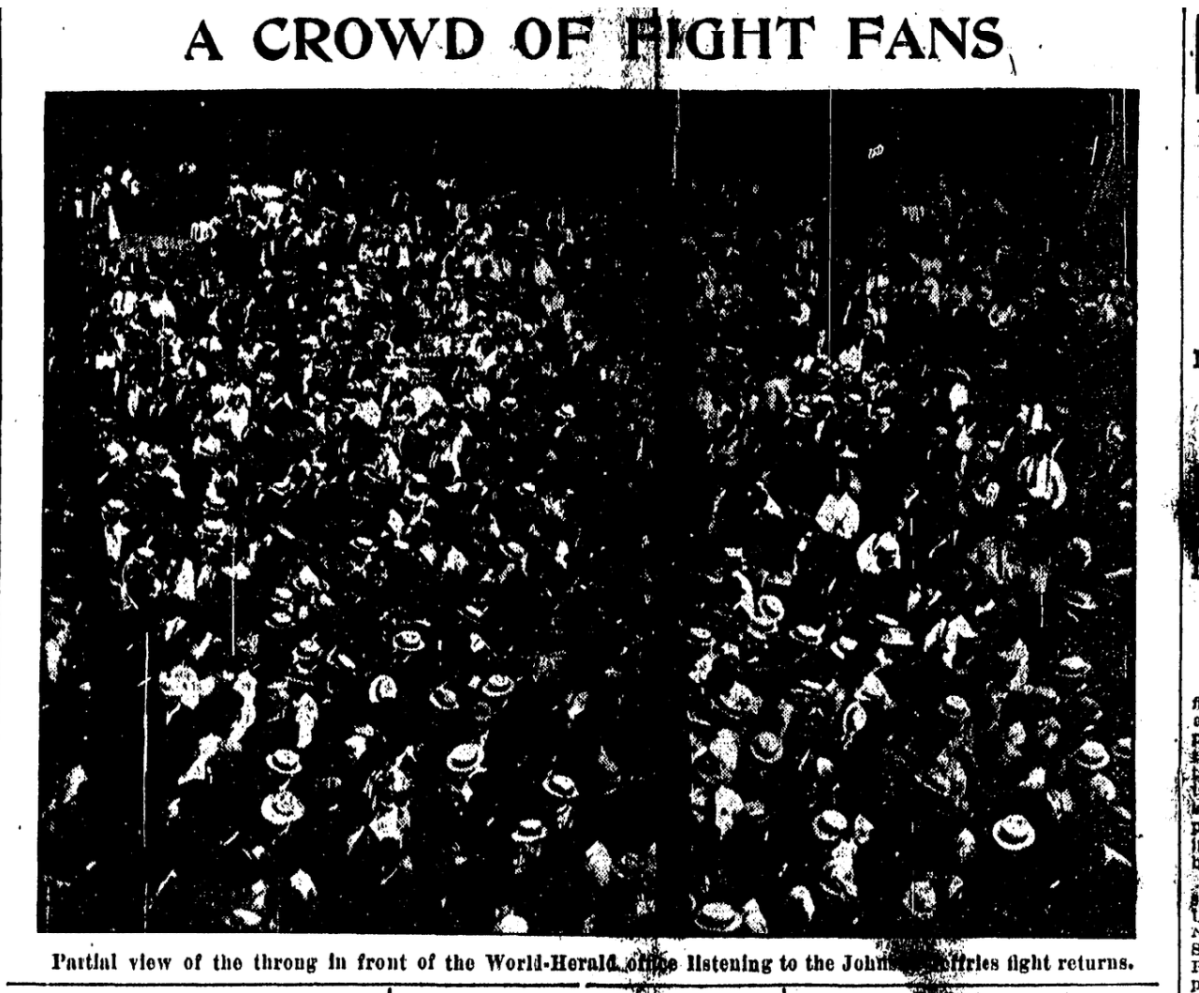 Jack Johnson Riot in Omaha, 1910