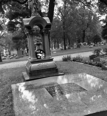 Anna Wilson Grave, Prospect Hill Cemetery, North Omaha, Nebraska