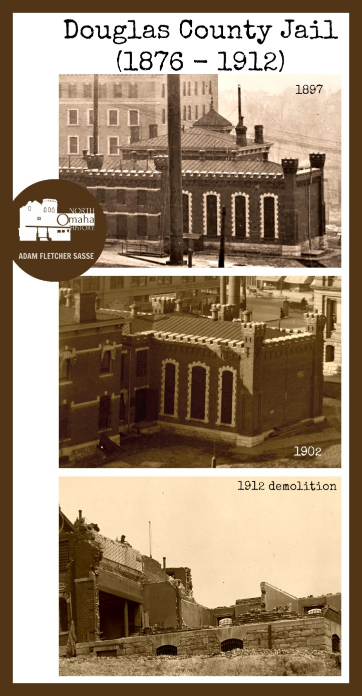 Douglas County jail, 18th and Harney, Omaha, Nebraska