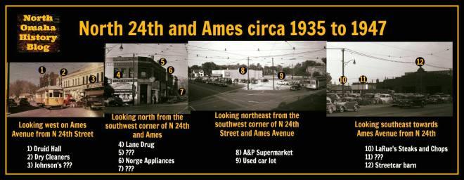 24th and Ames Avenue, North Omaha, Nebraska
