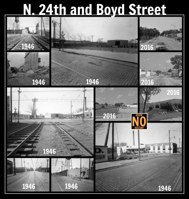 Belt Line Railway, N. 24th and Boyd Streets, North Omaha, Nebraska