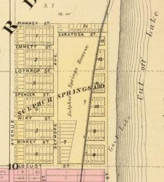 Sulphur Springs, Saratoga, Nebraska circa 1881