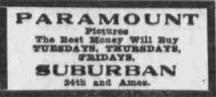 Suburban Theater N 24th and Ames Avenue Saratoga neighborhood North Omaha Nebraska