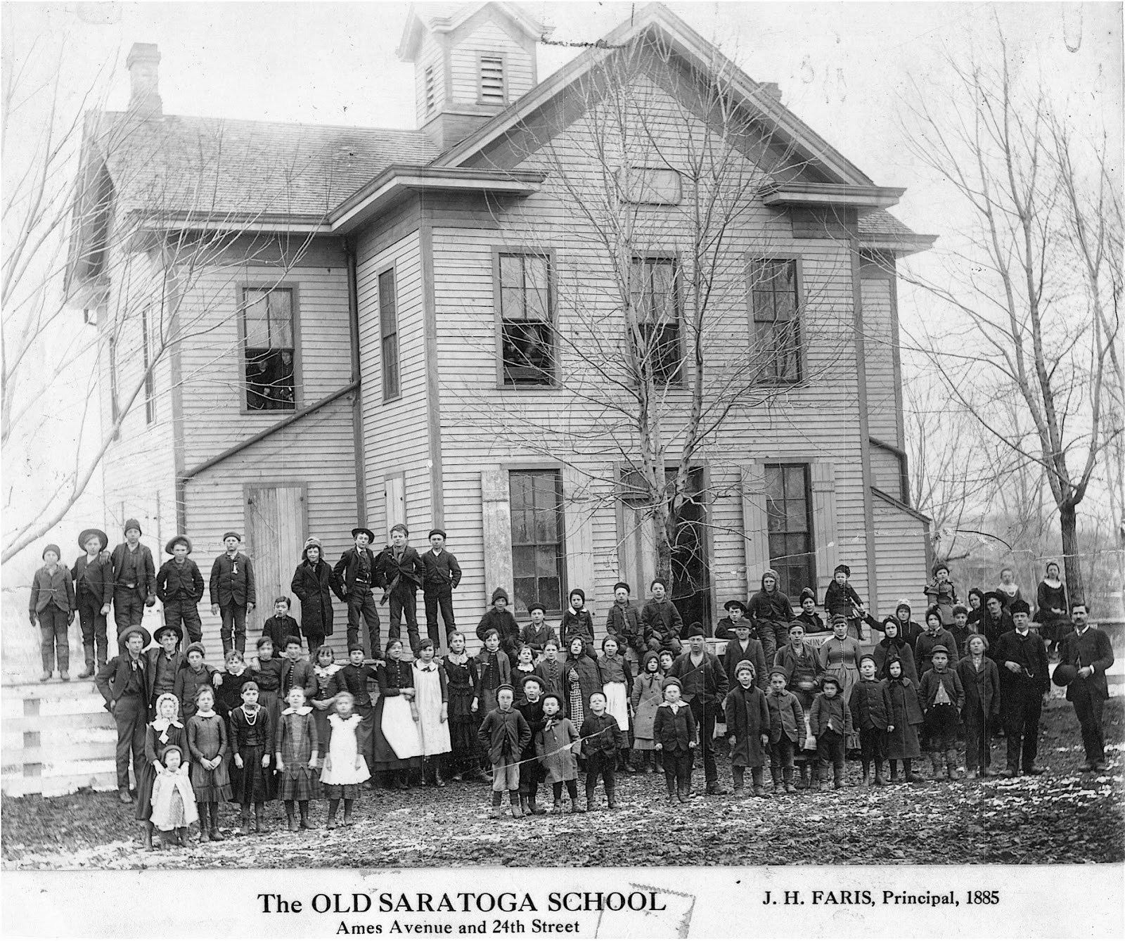Saratoga School, N. 24th and Ames Avenue, North Omaha, Nebraska