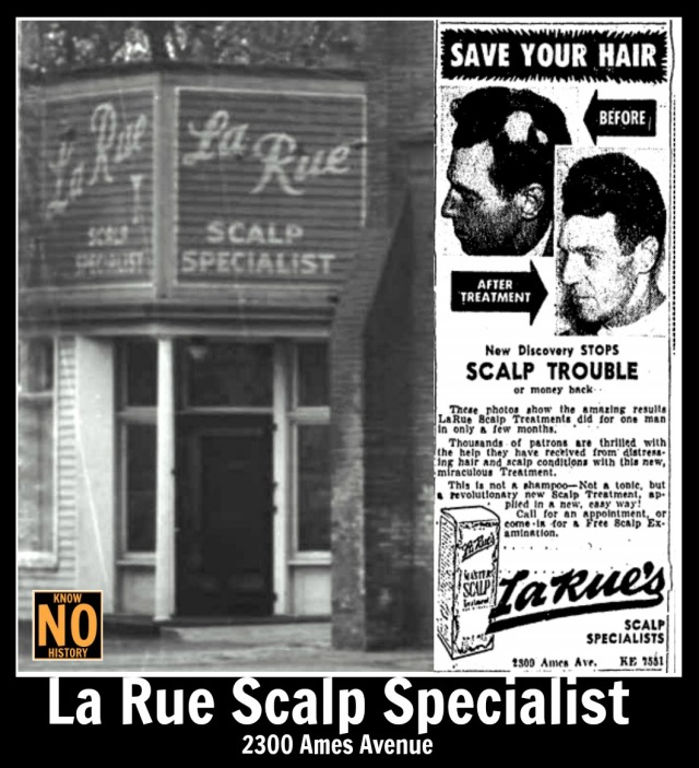 La Rue Scalp Specialist, 2300 Ames Avenue, North Omaha, Nebraska