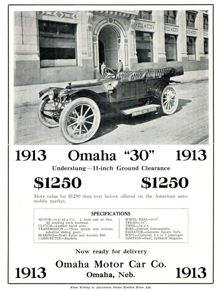 The Omaha Motor Company factory was in the Saratoga neighborhood at 4311 Florence Boulevard.