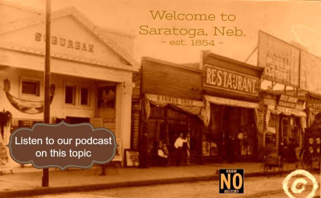 North Omaha History Podcast show #9 on the Saratoga neighborhood in Omaha, Nebraska