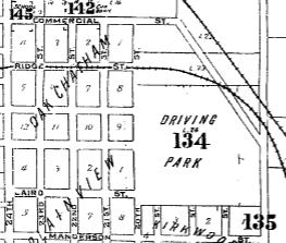 Omaha Driving park, Florence Blvd and Commercial Ave, North Omaha, Nebraska