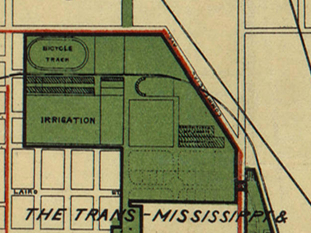 1898 Trans-Mississippi Expo at the Omaha Driving Park