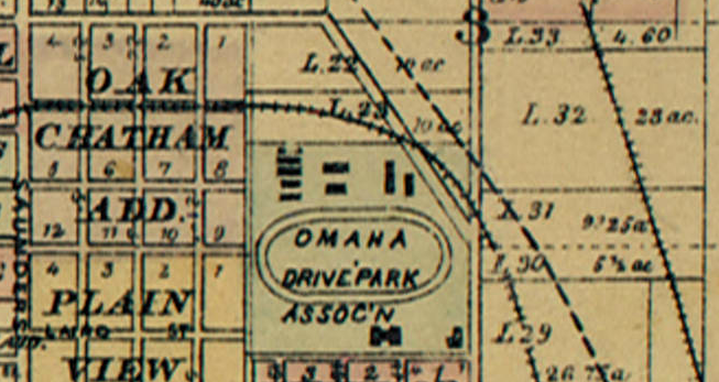Omaha Driving Park Association, Florence Blvd and Commercial Ave, North Omaha, Nebraska