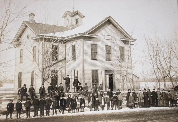 Saratoga School, 24th and Ames, North Omaha, Nebraska