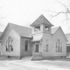 The Swedish Trinity Lutheran Church was originally located at N. 25th and Ames Ave. They moved to N. 30th and Redick in 1921.