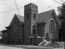 The Swedish Lutheran Church of Our Redeemer moved into the original Pearl Methodist Church at N. 24th and Larimore in 1917.
