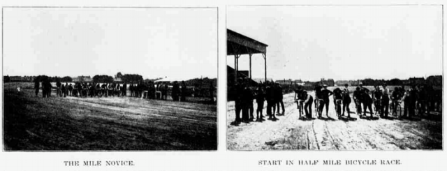 The YMCA Athletic Park was located at N. 24th and Ames Avenue in North Omaha, Nebraska, in these 1899 pics.
