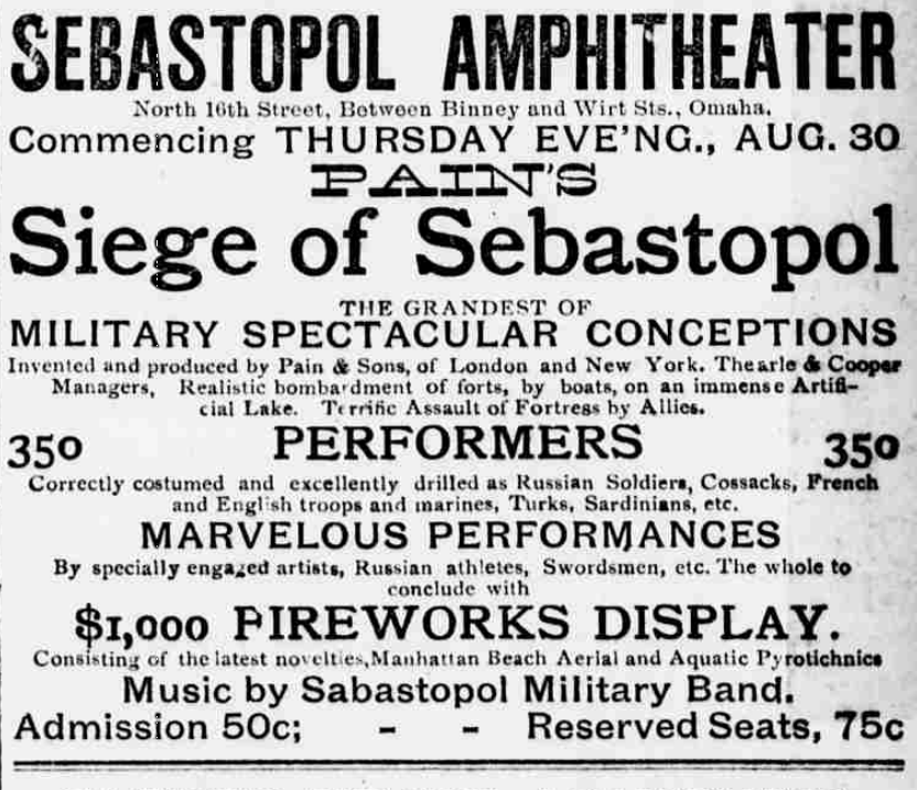 Sebastopol Amphitheater, N. 16th and Binney Streets, North Omaha, Nebraska