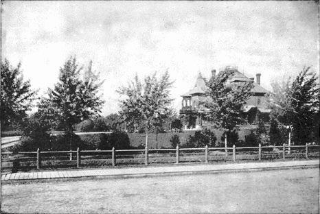 A. J. Poppleton Mansion, N. 16th St., North Omaha, Nebraska