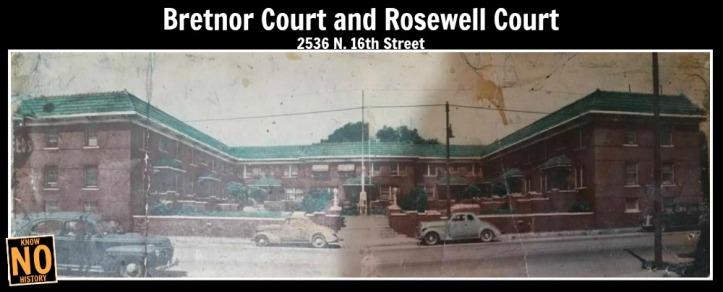 Bretnor Court, 2536 N. 16th St., North Omaha, Nebraska