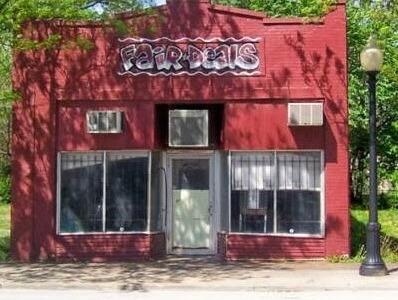 Fair Deal Cafe, North 24th Street, North Omaha, Nebraska