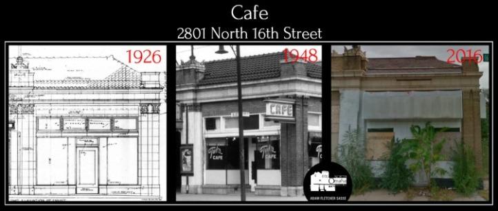 Cafe, 2801 N. 16th St., North Omaha, Nebraska 68111