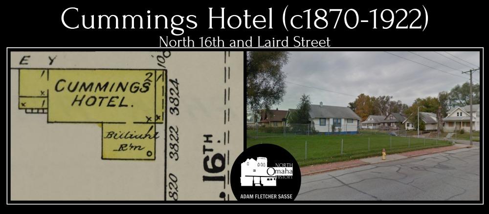 Cummings Hotel, 3824 N. 16th Street, North Omaha, Nebraska