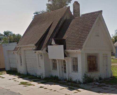 Gas Station, North 24th and Willis Street, North Omaha, Nebraska