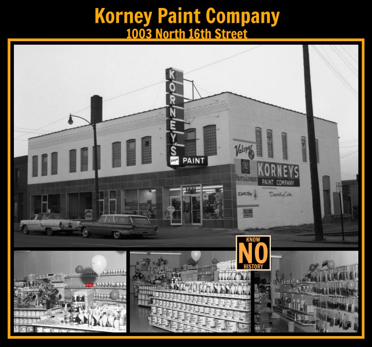Korney Paint Co., 1003 N. 16th St., North Omaha, Nebraska