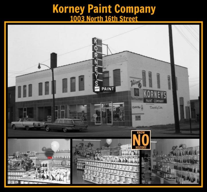 Korney Paint Co., 1003 N. 16th St., North Omaha, Nebraska