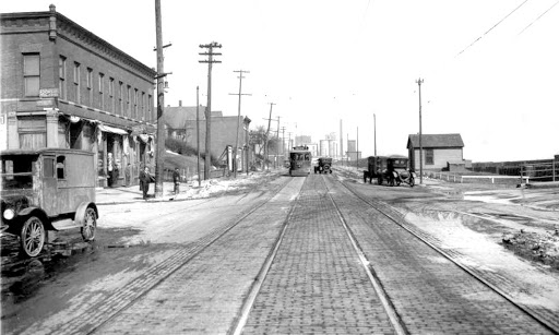 North 16th and Nicholas in the 1910s.