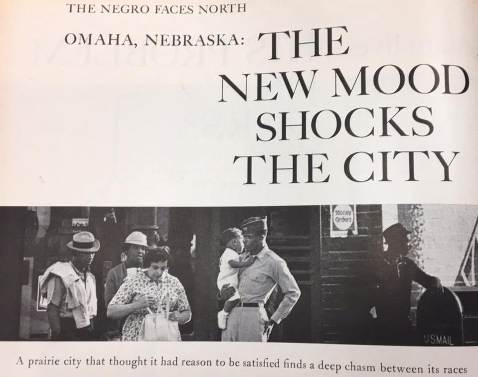"""Omaha, Nebraska: The New Mood Shocks the City"" article from LOOK magazine, December 17, 1963. https://northomahahistory.com/look-magazine-article-on-omaha-racism-12-17-1963-oct-4-2016-12-23-pm-1/"