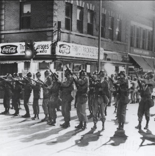 National Guard in North Omaha in 1966