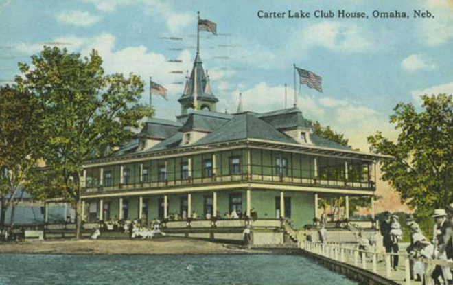 Carter Lake Clubhouse, 213 Carter Lake Club, Carter Lake, IA