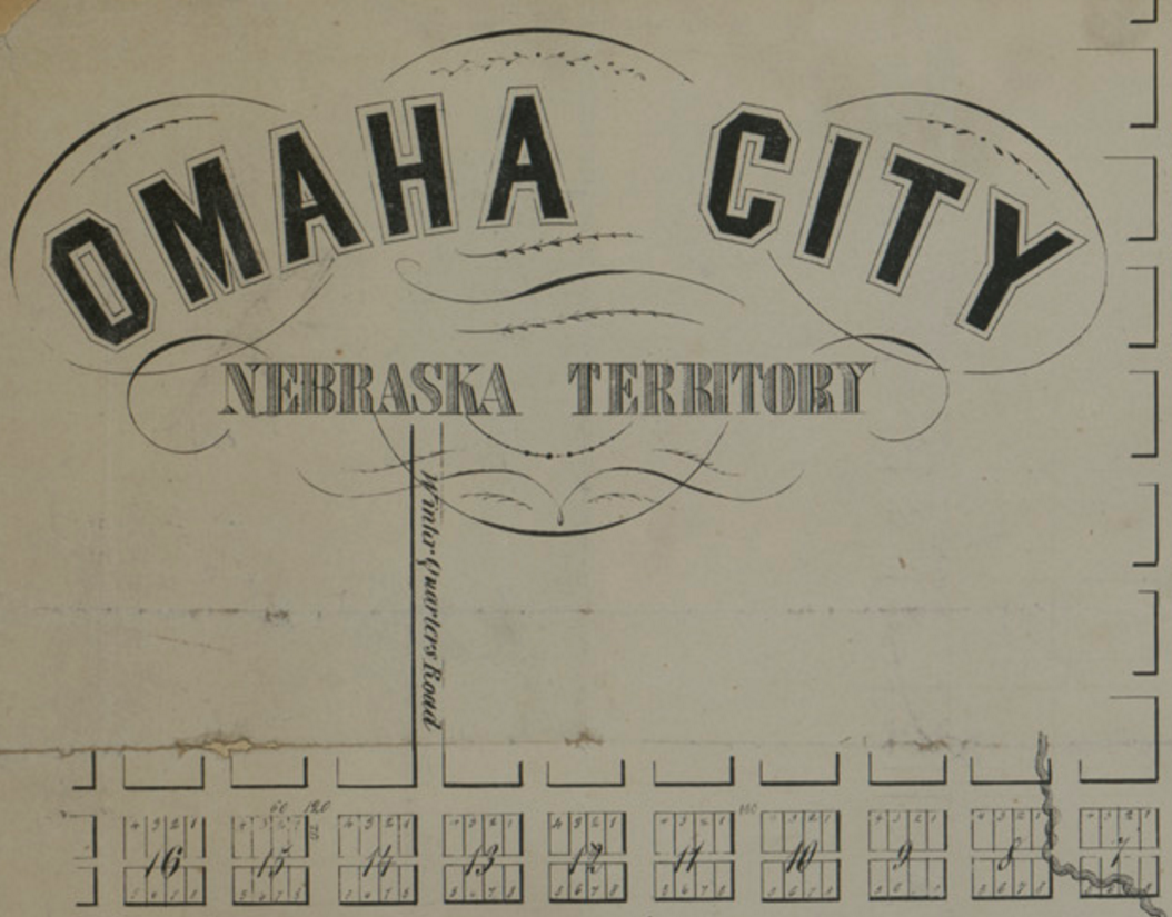 Winter Quarters Road, Omaha City, Nebraska Territory