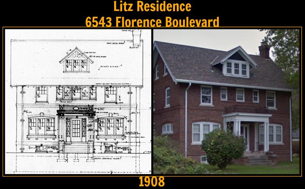 E.E. Litz Residence, 6543 Florence Boulevard, North Omaha, Nebraska