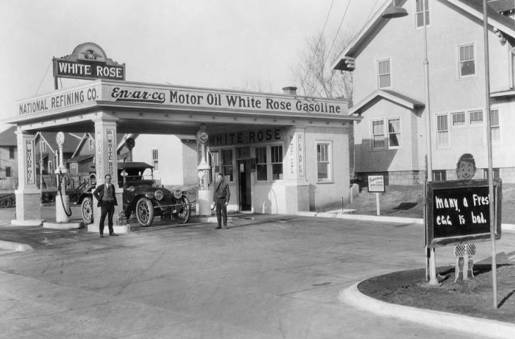 White Rose Gas Station, Florence Blvd and Miami St., North Omaha, Nebraska