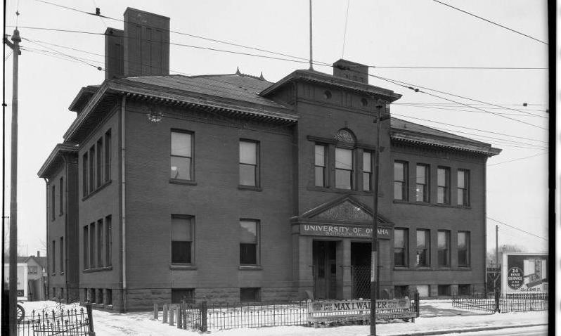University of Omaha Science Hall / Saratoga School, 24th and Ames, North Omaha, Nebraska