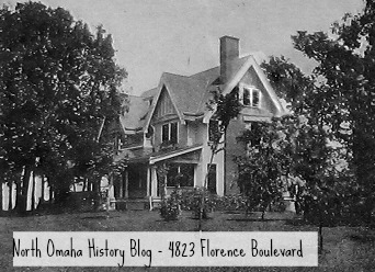 Rome Miller Mansion, 4823 Florence Boulevard, North Omaha, Nebraska