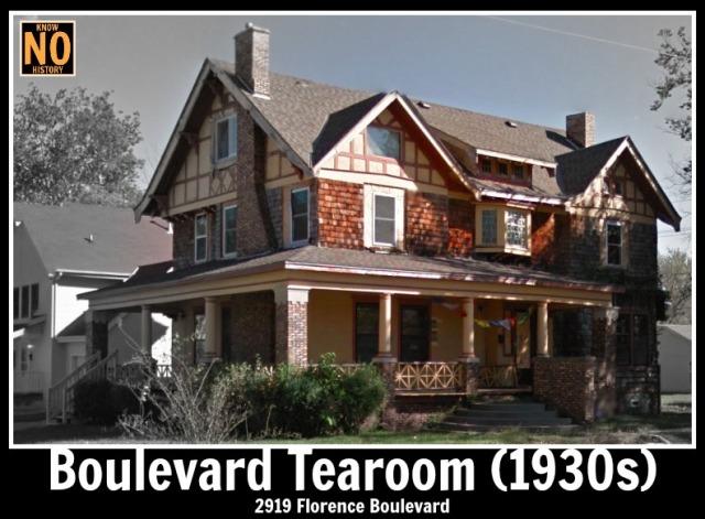 Boulevard Tearoom (1930s), North Omaha, Nebraska