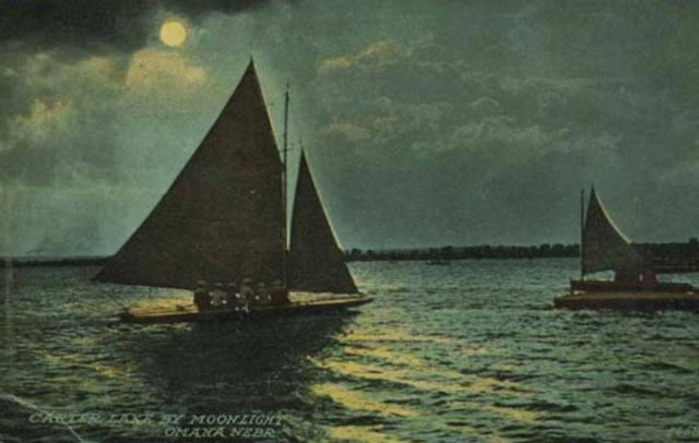 Carter Lake by Moonlight Omaha Neb