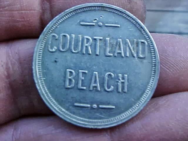 Courtland Beach Token, Omaha, Nebraska