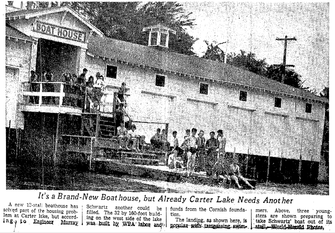 Carter Lake Boathouse