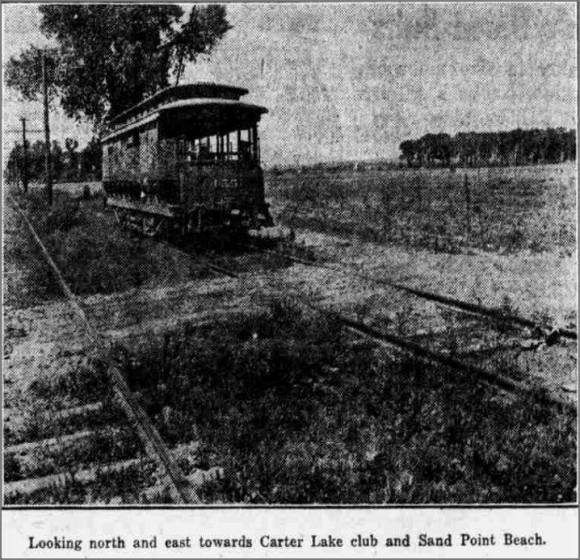 Carter Lake Streetcar, East Omaha, Nebraska